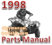 Arctic Cat 1998 ATV 400 2X4 98A2E 1998 [Parts Manual]