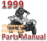 Thumbnail Arctic Cat 1999 ATV 300 4X4 99A4C AP 1999 [Parts Manual]