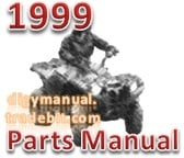 Thumbnail Arctic Cat 1999 ATV 400 4X4 99A4E AP 1999 [Parts Manual]