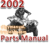 Thumbnail Arctic Cat 2002 ATV 250 300 250 2X4 RED A2002ATE2AUSR [Parts Manual]